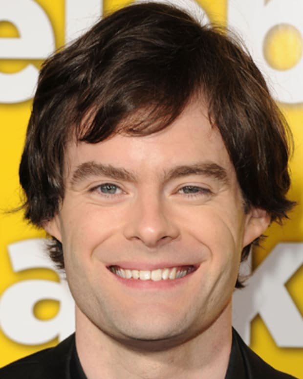 HOLLYWOOD, CA - MARCH 14:  Actor Bill Hader arrives at the premiere of Universal Pictures' 'Paul' held at Grauman's Chinese Theater on March 14, 2011 in Hollywood, California.  (Photo by Jason Merritt/Getty Images) *** Local Caption *** Bill Hader