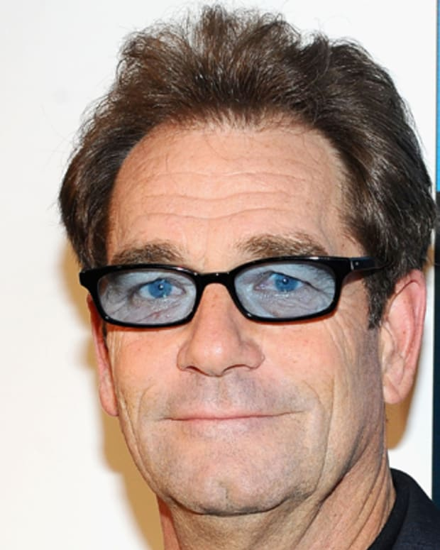 Musician Huey Lewis attends the 'Back To The Future' 25th anniversary Trilogy Blu-Ray release celebration at Gustavino's on October 25, 2010 in New York City.