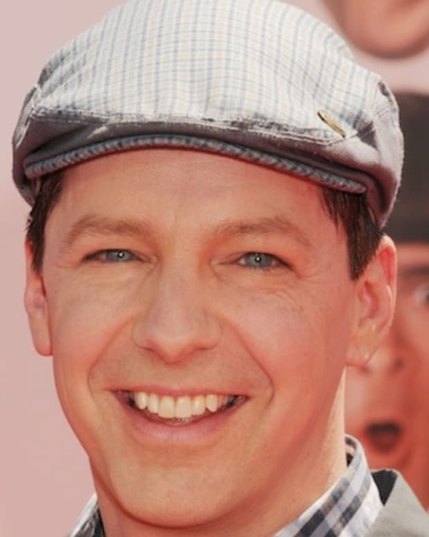 HOLLYWOOD, CA - APRIL 07: Sean Hayes attends the Los Angeles premiere of 'The Three Stooges' on April 7, 2012 in Hollywood, United States. (Photo by Jeffrey Mayer/WireImage)