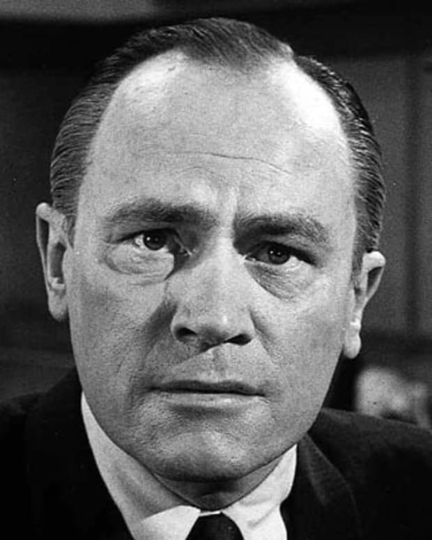 E.G. Marshall is shown in 1962. The Emmy Award-winning character actor played politicians, lawyers and judges. (AP Photo)