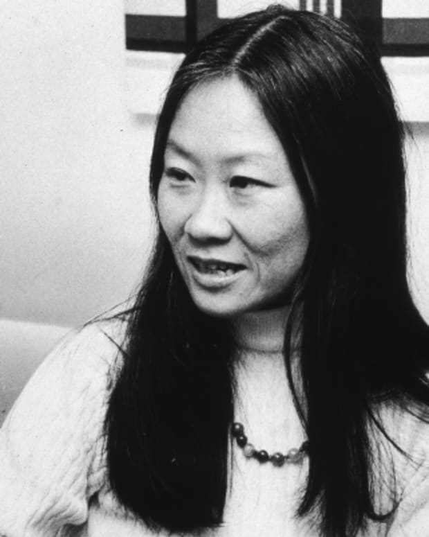 Maxine Hong Kingston photo via Getty Images