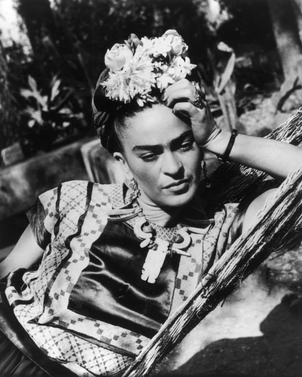 Kahlo was a sexually liberated woman who engaged in love affairs with women, even during her marriage to artist Diego Rivera.