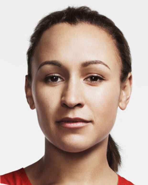 LONDON, ENGLAND - UNDATED: In this handout image from adidas, Team GB athlete Jessica Ennis pictured in adidas Team GB London 2012 Olympic kit  in London, England.  (Photo by adidas via Getty Images)