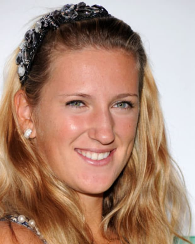 NEW YORK - AUGUST 26:  Tennis player Victoria Azarenka attends the 2010 Taste of Tennis at the W New York on August 26, 2010 in New York City.  (Photo by Bryan Bedder/Getty Images) *** Local Caption *** Victoria Azarenka