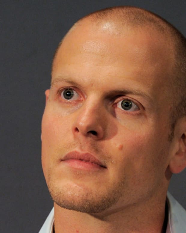 NEW YORK, NY - MAY 26:  Author Tim Ferriss speaks during the Meet the Author: Tim Ferriss 'The 4-Hour Body' at Apple Store Soho on May 26, 2011 in New York City.  (Photo by Jemal Countess/Getty Images)