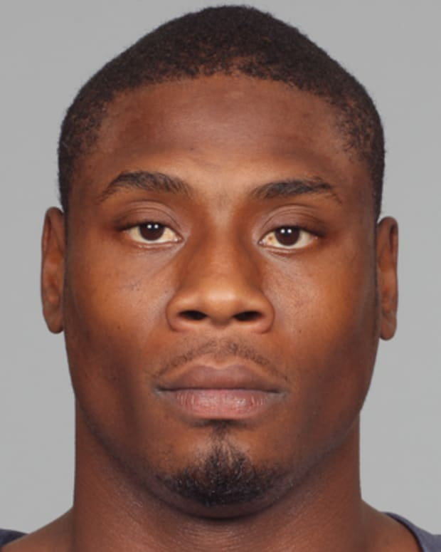 HOUSTON, TX - CIRCA 2011: In this handout image provided by the NFL, Jacoby Jones of the Houston Texans poses for his NFL headshot circa 2011 in Houston, Texas.  (Photo by NFL via Getty Images)