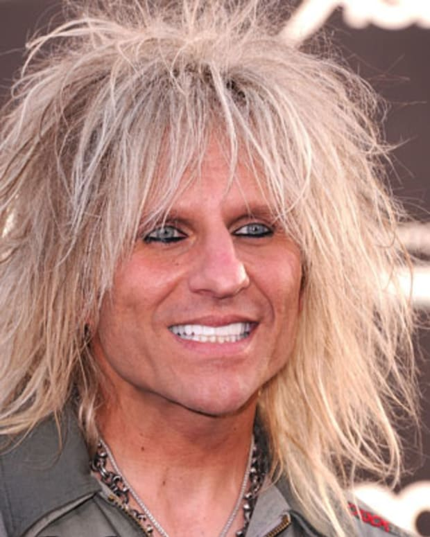 HOLLYWOOD, CA - JUNE 08:  C.C. Deville arrives at the 'Rock Of Ages' - Los Angeles Premiere at Grauman's Chinese Theatre on June 8, 2012 in Hollywood, California.  (Photo by Steve Granitz/WireImage)