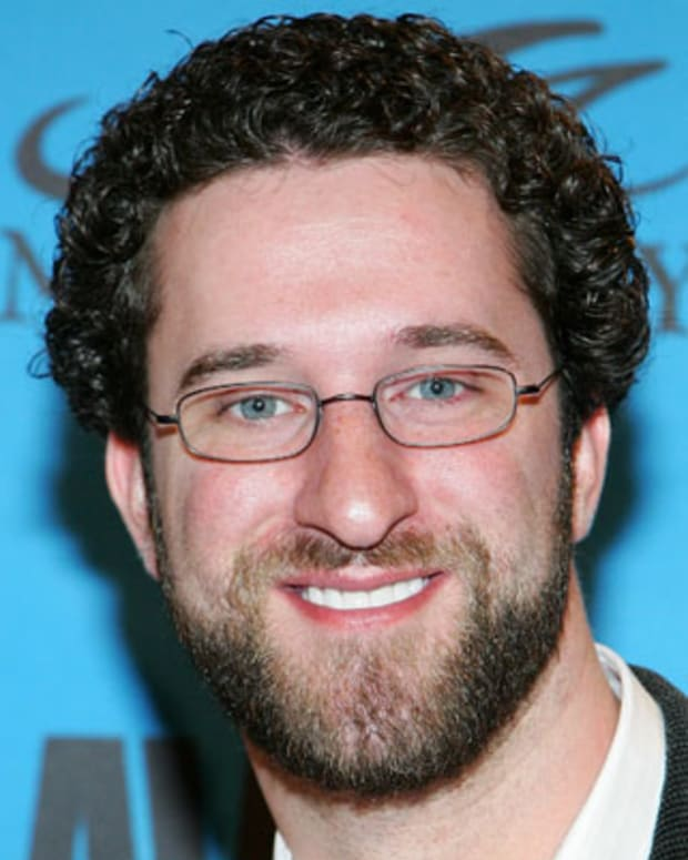 LAS VEGAS - JANUARY 13:  Actor Dustin Diamond arrives at the 24th annual Adult Video News Awards Show at the Mandalay Bay Events Center January 13, 2007 in Las Vegas, Nevada.  (Photo by Ethan Miller/Getty Images)