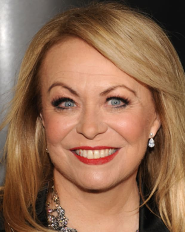HOLLYWOOD, CA - JANUARY 14:  Actress Jacki Weaver arrives for The 9th annual G'Day USA Los Angeles Black Tie Gala at the Grand Ballroom at Hollywood & Highland Center on January 14, 2012 in Hollywood, California.  (Photo by Mark Sullivan/WireImage)