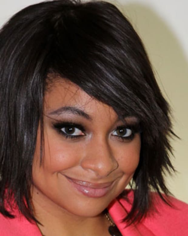 NEW YORK, NY - JULY 11:  Raven-Symone poses as she promotes 'Sister Act on Broadway' at The Broadway.com Studios in Times Square on July 11, 2012 in New York City.  (Photo by Bruce Glikas/FilmMagic)