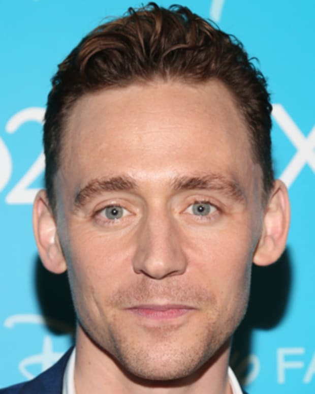 ANAHEIM, CA - AUGUST 10:  Actor Tom Hiddleston of 'Thor: The Dark World' attends 'Let the Adventures Begin: Live Action at The Walt Disney Studios' presentation at Disney's D23 Expo held at the Anaheim Convention Center on August 10, 2013 in Anaheim, California.  (Photo by Imeh Akpanudosen/WireImage)