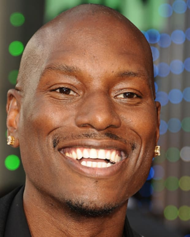 UNIVERSAL CITY, CA - MAY 21:  Actor Tyrese Gibson attends the premiere of 'Fast & Furious 6' at Universal CityWalk on May 21, 2013 in Universal City, California.  (Photo by Jason LaVeris/FilmMagic)
