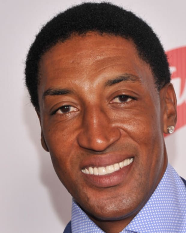 LOUISVILLE, KY - MAY 04:  Scottie Pippen attends the 139th Kentucky Derby at Churchill Downs on May 4, 2013 in Louisville, Kentucky.  (Photo by Stephen Lovekin/WireImage)