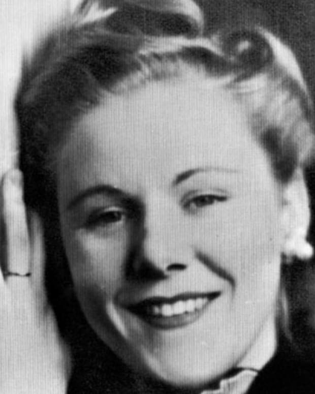 Viola Gregg is shown in this 1943 photo.   She married. Anthony Liuzzo,  her second husband.    She was shot to death while en route to Montgomery, Ala. on Thursday,  March 25, 1965.   (AP Photo)