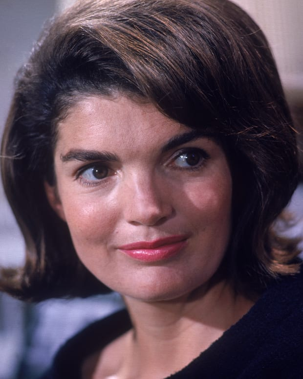 Jacqueline Kennedy photo via Getty Images