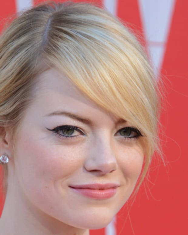 WESTWOOD, CA - JUNE 28:  Actress Emma Stone arrives at the Los Angeles Premiere 'The Amazing Spiderman' at Regency Village Theatre on June 28, 2012 in Westwood, California.  (Photo by Jon Kopaloff/FilmMagic)