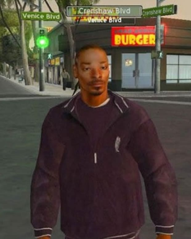Snoop Dogg Video Game Photo