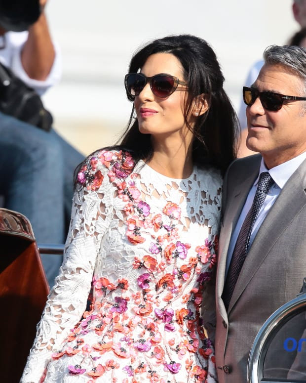 George Clooney Amal Alamuddin Photo