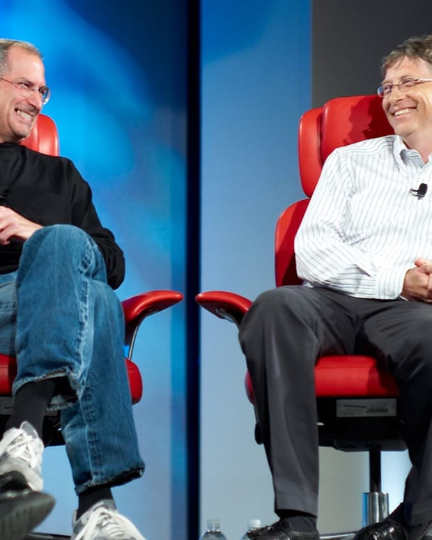 Steve Jobs Bill Gates Photo