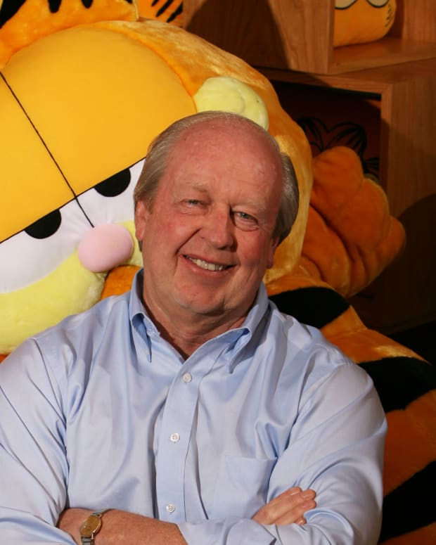 Garfield Jim Davis Photo