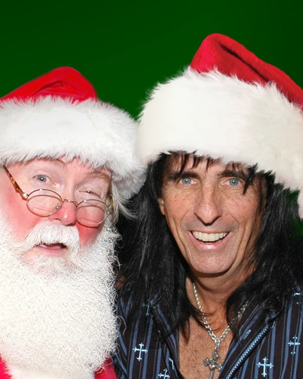 Alice Cooper Santa Clause
