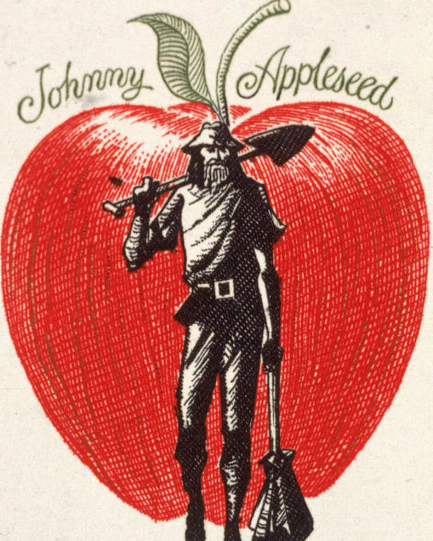 Johnny Appleseed Stamp Photo