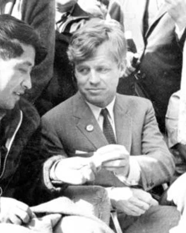 Cesar Chavez and RFK Photo