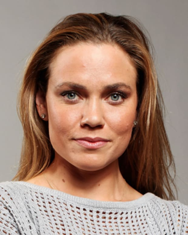 DALLAS, TX - MAY 14:  Swimmer, Natalie Coughlin, poses for a portrait during the 2012 Team USA Media Summit on May 14, 2012 in Dallas, Texas.  (Photo by Nick Laham/Getty Images)