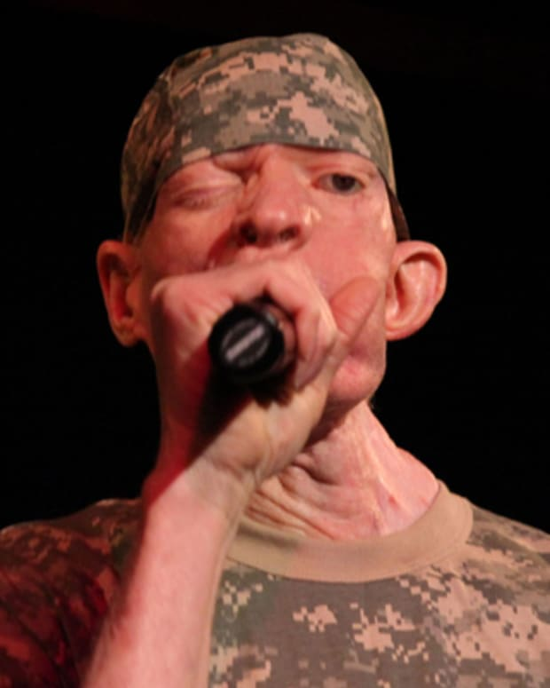 NEW YORK, NY - AUGUST 15:  Yellowman performs at B.B. King Blues Club & Grill on August 15, 2011 in New York City.  (Photo by Johnny Nunez/WireImage)