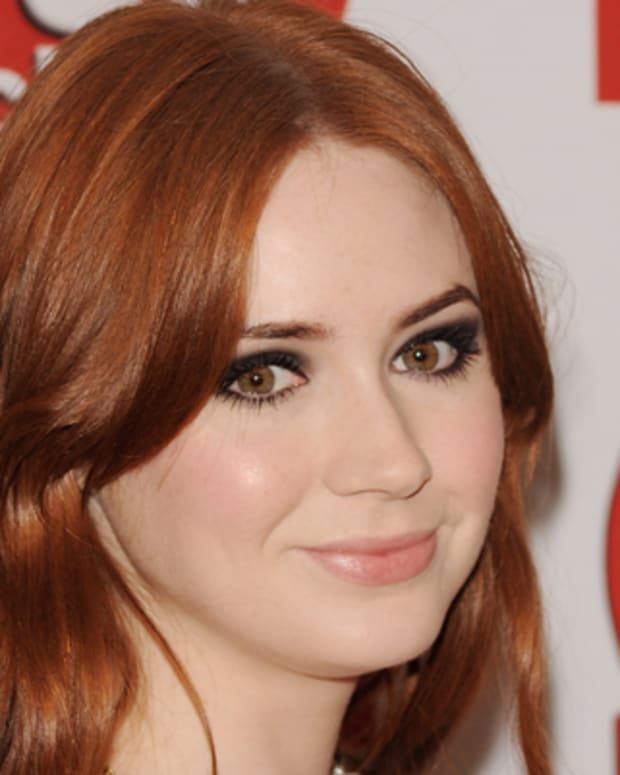 LONDON, ENGLAND - SEPTEMBER 13:  Karen Gillan attends the TVChoice Awards at The Savoy Hotel on September 13, 2011 in London, England.  (Photo by Stuart Wilson/Getty Images)