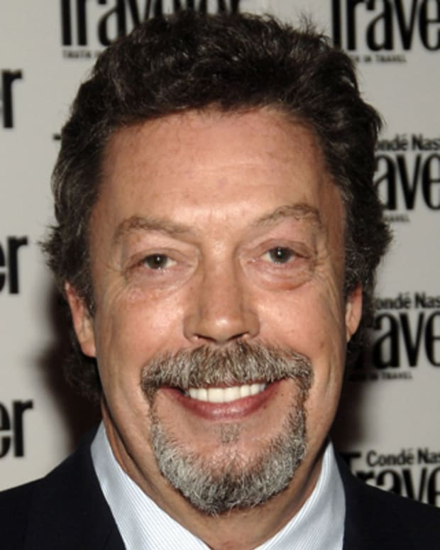 Tim Curry during Conde Nast Traveler 18th Annual Readers' Choice Awards - Arrivals at The Metropolitan Museum of Art in New York City, New York, United States. (Photo by Dimitrios Kambouris/WireImage for Conde Nast Publications/FPC Magazines)
