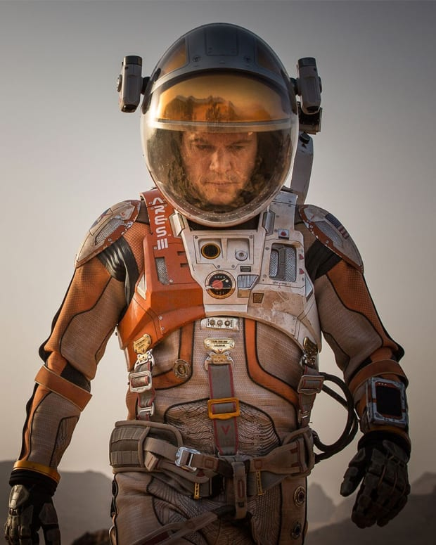The Martian Movie Matt Damon Photo