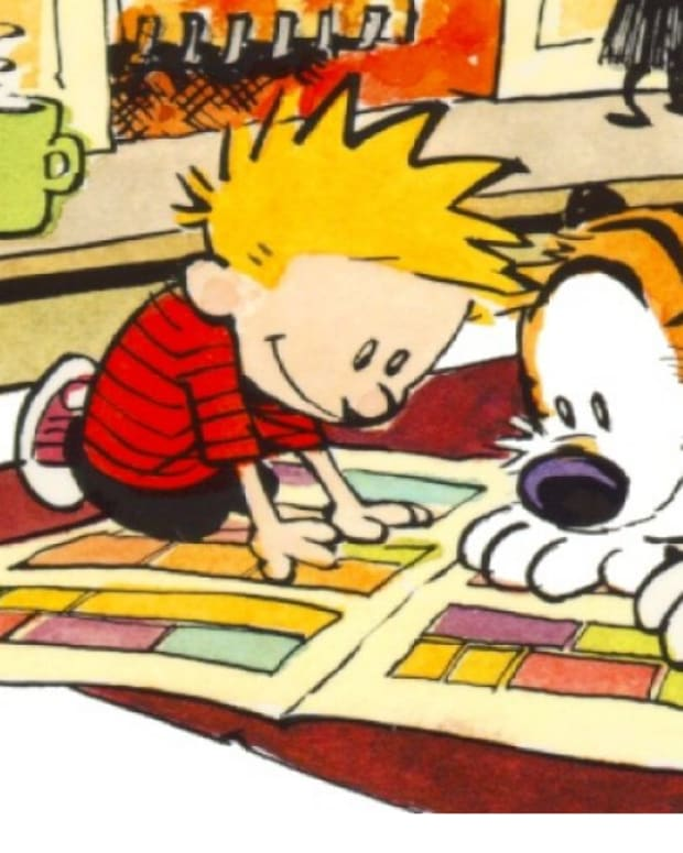 Calvin and Hobbes Photo