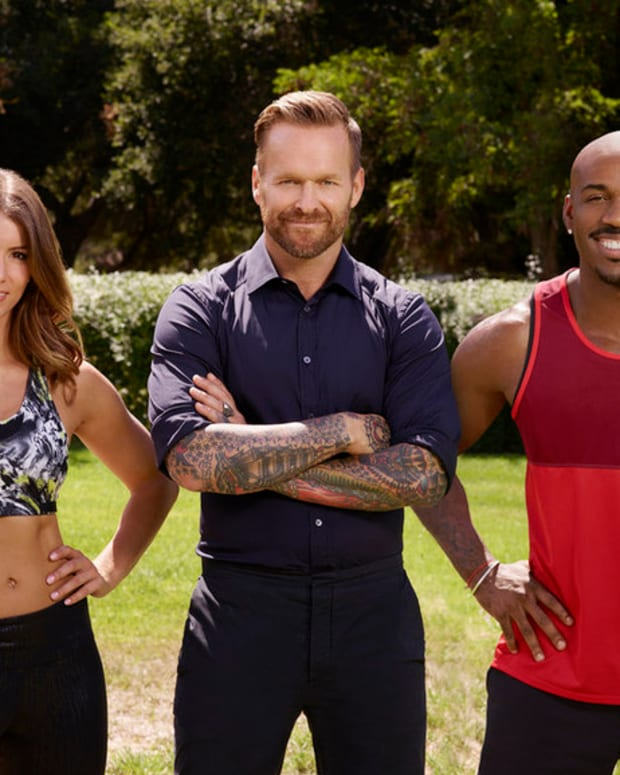 Bob Harper Biggest Loser Trainers Photo
