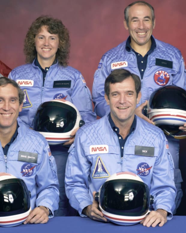 Space Shuttle Challenger Crew Photo