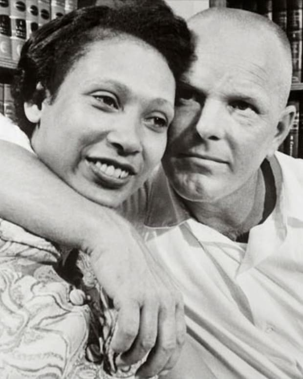 Mildred Jeter and Richard Loving Photo