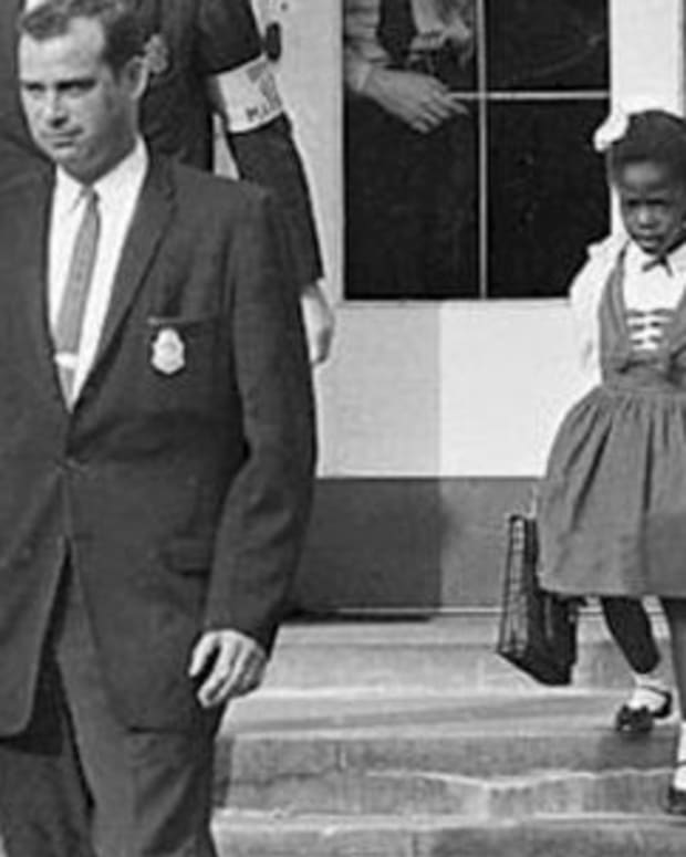 Ruby Bridges Photo Courtesy of Wikimedia Commons