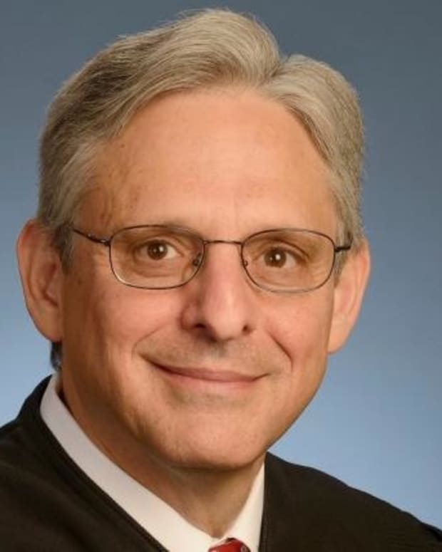 Merrick Garland official portrait