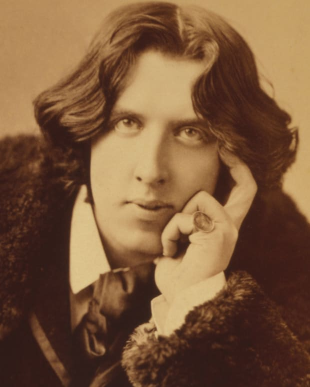 Oscar Wilde Photo By Napoleon Sarony via Wikimedia Commons