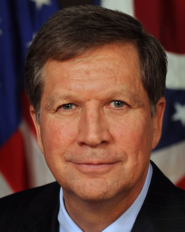 John Kasich Photo - Official Portrait via Wikicommons