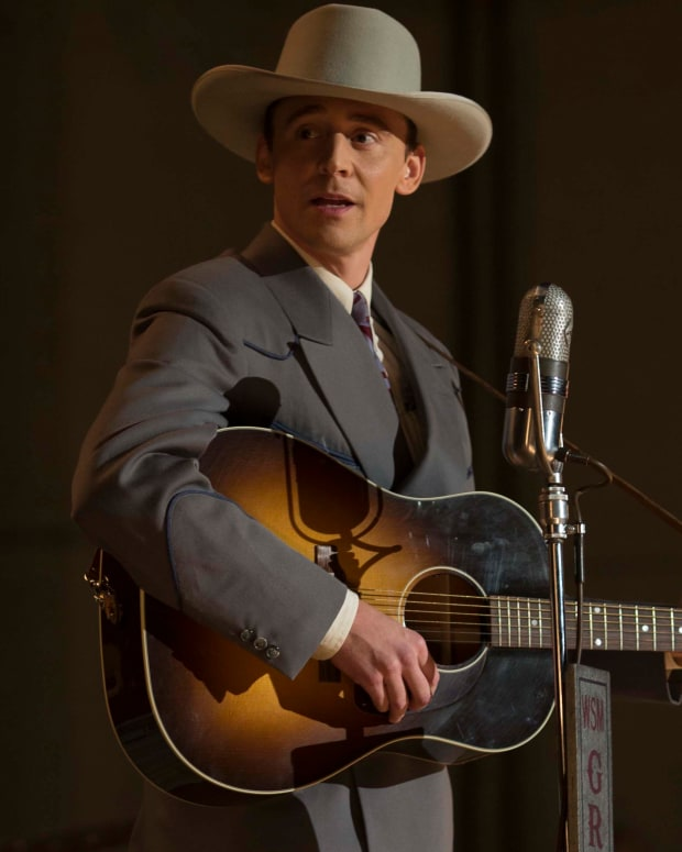 Tom Hiddleston in I Saw the Light Photo Courtesy Sony Pictures Classics