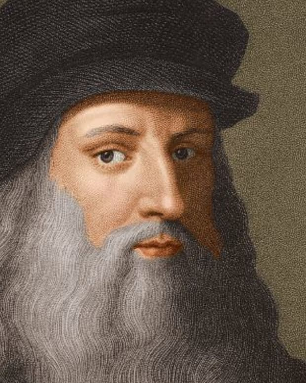 Leonardo da Vinci Photo Stock Montage/Getty Images