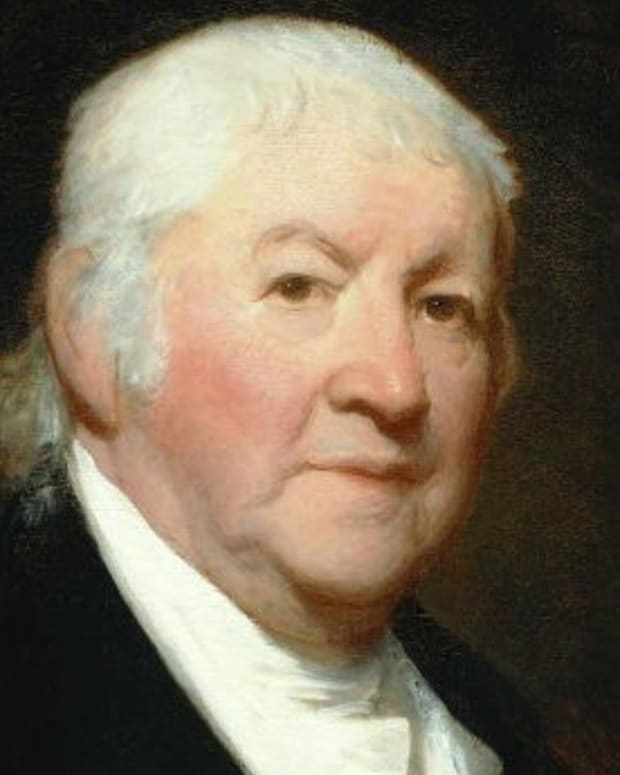 Paul Revere Portrait By Gilbert Stuart via Wikimedia Commons