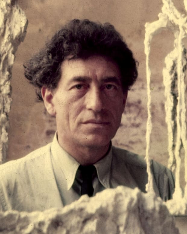 Alberto Giacometti Photo via Getty Images