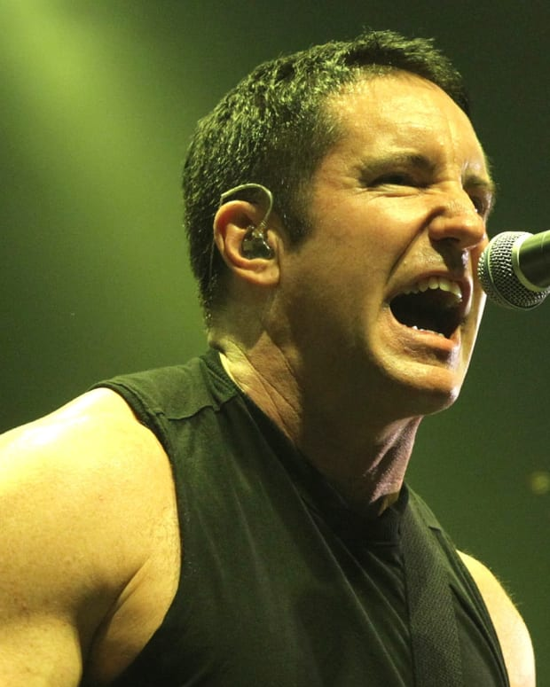 Trent Reznor photo via Getty Images