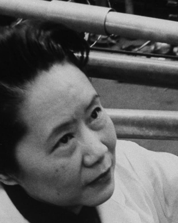 Chien-Shiung Wu photo via Getty Images