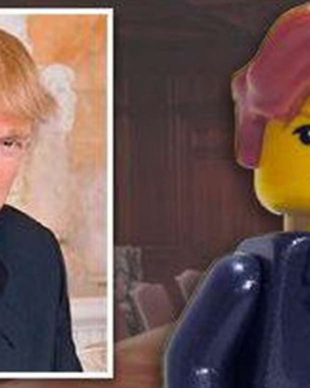 Donald Trump Lego Photo