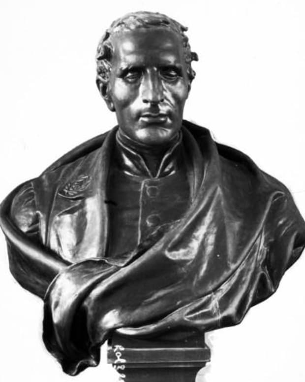 Louis Braille Bust Photo