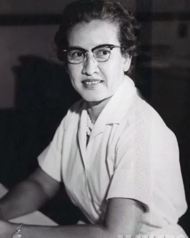 Katherine Johnson at NASA