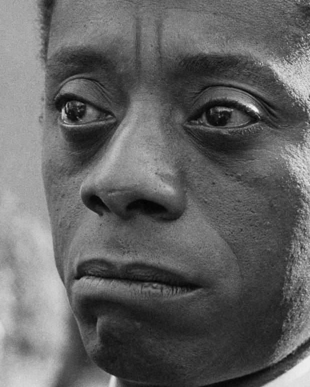 Author and activist James Baldwin
